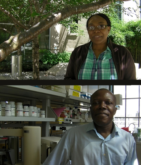 Ibok Oduro (top) and Ellis Owusu-Dabo (bottom) spent the summer at state-of-the-art facilities across Boston as part of a new fellowship program set up by Seeding Labs.