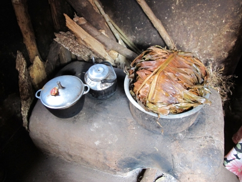 An example of the efficient cookstove being promoted by the Ugandan environmental group JEEP.